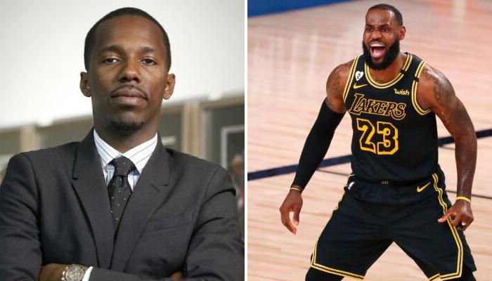 NBA Rich Paul et son client le King