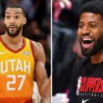 NBA – Le tacle détourné de Paul George à Rudy Gobert !