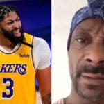 NBA – Snoop Dogg pète un câble et humilie Anthony Davis !