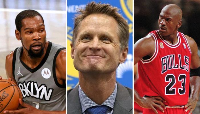 NBA La grosse décla de Kerr sur KD et MJ