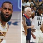 NBA – Après l'annonce d'une superstar, le potentiel 5 majeur légendaire de Team USA aux JO