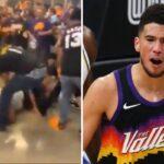 NBA – Violente bagarre entre fans des Suns et Clippers, les images choc