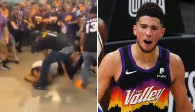 Les fans des Suns se sont encore distingués avec leurs poings