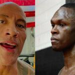 UFC – The Rock envoie un message ciblé à Izzy Adesanya et Nate Diaz !