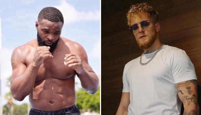 La star UFC Tyron Woodley a répondu à la provocation de Jake Paul pour la fête des pères