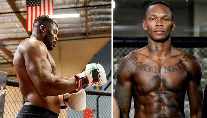 Francis Ngannou Israel Adesaya UFC