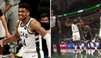 NBA – La grosse colère de James Harden contre Giannis !