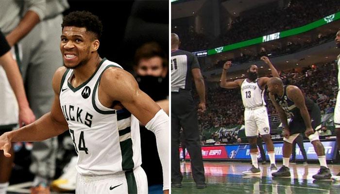 La grosse colère de James Harden contre Giannis ! NBA