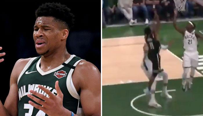 Giannis accusé d'avoir blessé Kyrie volontairement ! NBA