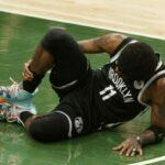 NBA – L'image glaçante de Kyrie Irving après sa blessure