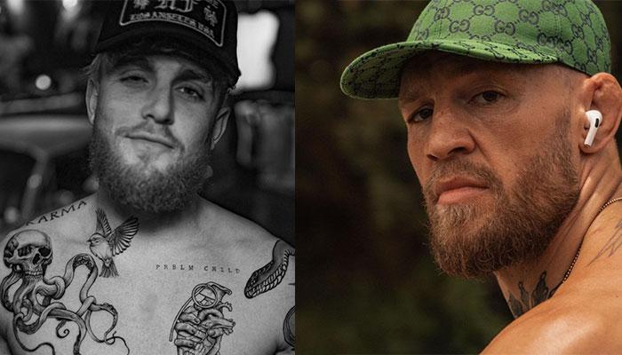 Jake Paul et Conor McGregor de l'UFC