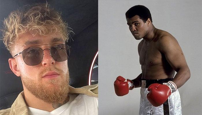 Jake Paul vole une photo iconique de Muhammad Ali sur Instagram