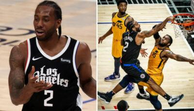 NBA – Kawhi atomise un adversaire et signe le poster de l'année !