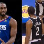 NBA – Kawhi recadré par Rajon Rondo après son choix douteux contre les Mavs !