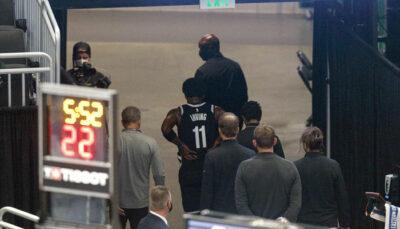 NBA – Les nouvelles très inquiétantes de Kyrie au moment de quitter la salle