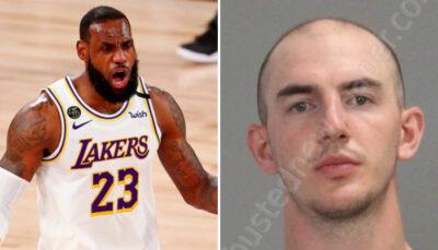 NBA – Alex Caruso arrêté par la police pour délit, LeBron réagit !
