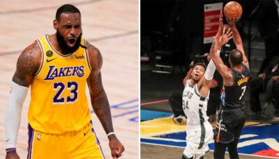 NBA – KD fume Giannis en iso, LeBron réagit !