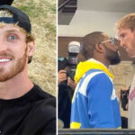 Fight - Dominated, Logan Paul ridicules Mayweather after their face-to-face!