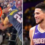 NBA – Un fan des Suns saccage un fan des Nuggets, Devin Booker lui écrit !