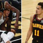 NBA – À 2-2, Trae Young envoie un message pour Giannis après sa blessure !