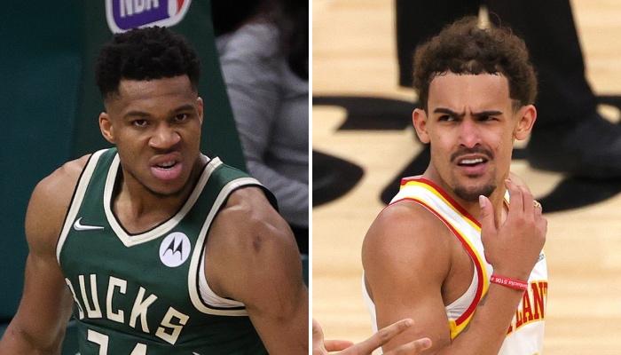 La superstar NBA des Milwaukee Bucks, Giannis Antetokounmpo, a réagi au geste provocateur de Trae Young lors du Game 1 face aux Hawks