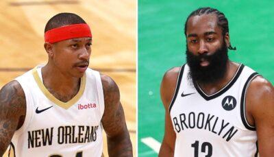 NBA – Isaiah Thomas cash sur le match piteux de James Harden