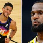 NBA – Les joueurs réagissent à l'énorme carton de Booker pour sortir LeBron !