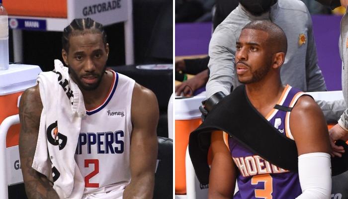 Les superstars NBA des Los Angeles Clippers et des Phoenix Suns, Kawhi Leonard et Chris Paul, seront-elles de retour pour le Game 3 de la série entre les deux équipes ?