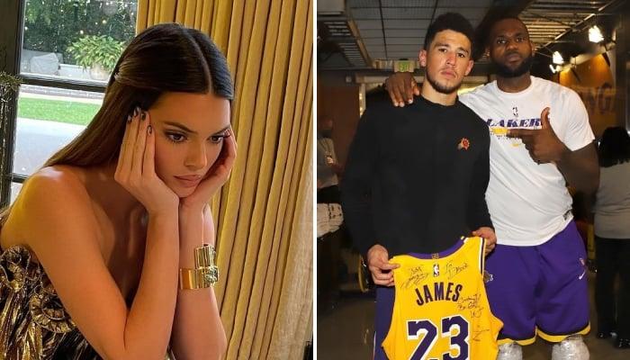 La célèbre top-model Kendall Jenner, compagne de la star NBA Devin Booker, a été malmenée par des fans des Los Angeles Lakers suite à leur élimination face aux Phoenix Suns