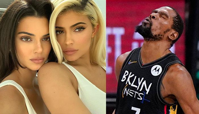 Kevin Durant en NBA et Kendall Jenner