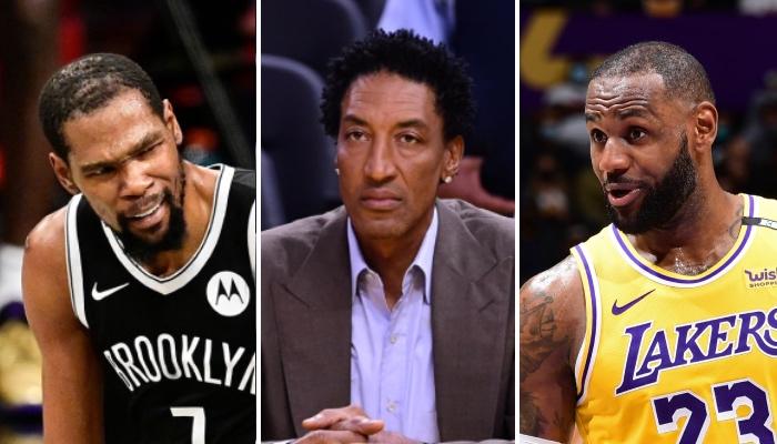 La légende NBA des Chicago Bulls, Scottie Pippen, a livré une déclaration controversée au sujet du leader des Brooklyn Nets, Kevin Durant, et de celui des Los Angeles Lakers, LeBron James