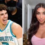 NBA – LaMelo Ball surpris à tenter sa chance avec une top model