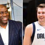 NBA – Magic Johnson annonce du très lourd pour Luka Doncic et les Mavs !