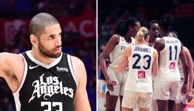 NBA – Nico Batum envoie un message aux Bleues après leur finale ratée