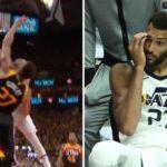 NBA – Rudy Gobert salement postérisé face aux Clippers !