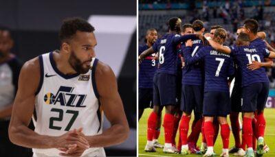 NBA – Rudy Gobert réagit à la victoire des Bleus face à l'Allemagne dans l'Euro 2020