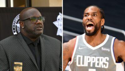 NBA – Shaq nomme le joueur le plus important des Clippers, Kawhi snobé !