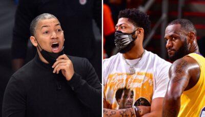NBA – Tyronn Lue envoie un message aux fans des Lakers, ils le martyrisent !