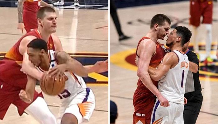 Nikola Jokic craque et se fait éjecter avec un très mauvais geste ! NBA
