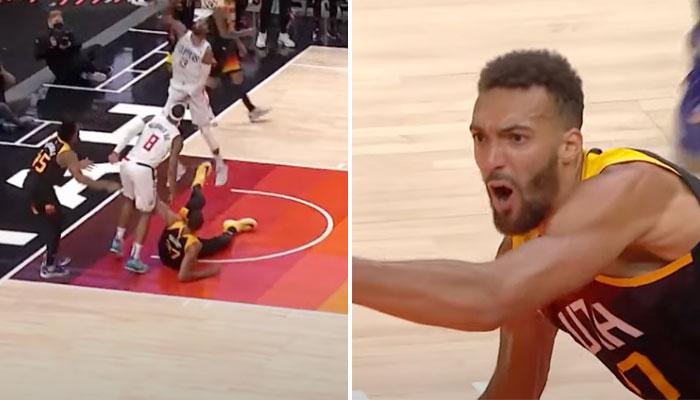 Le geste de Marcus Morris qui a mis fou de rage Rudy Gobert NBA