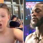 Fight – Le fils de Tyson Fury balance un giga tacle à Deontay Wilder !