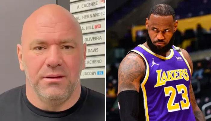 Dana White déteste l'ennemi juré de LeBron James