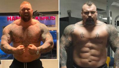 Fight – 4 mètres, 320 kg de muscles :  le « combat des Titans » qui va choquer le monde !