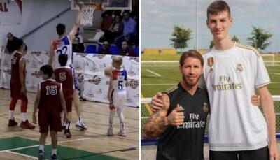 NBA/HS – Olivier Rioux, 15 ans et 2m25 : le colosse qui affole les US !