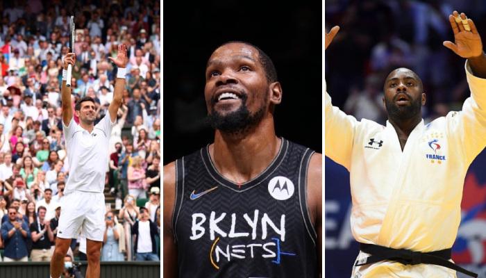 NBA Durant en tête d'un classement aux JO