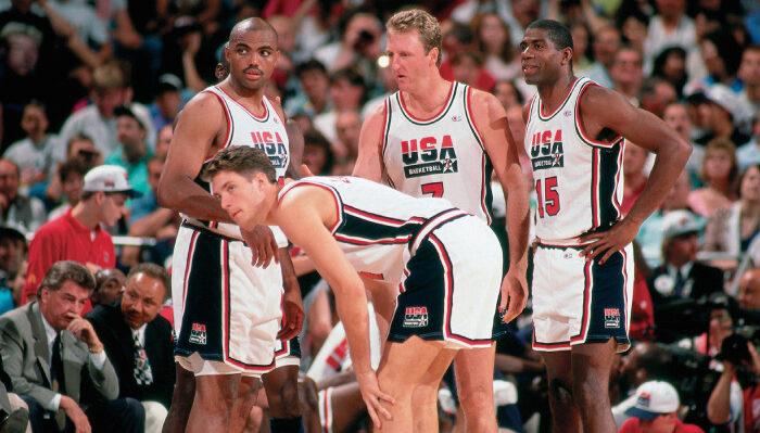 NBA Larry Bird et sa folle anecdote avec Team USA