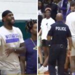 NBA – Un speaker humilie LeBron et Bronny, le King le recadre en plein match !