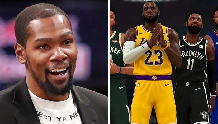 NBA Le cinq majeur de Durant sur 2K