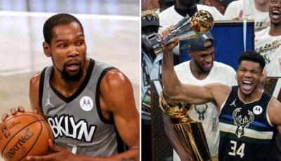 NBA – Le like sans équivoque de KD sur la bague de Giannis et des Bucks
