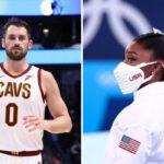 NBA/JO – Kevin Love pète un cable et incendie les critiques envers Simone Biles !